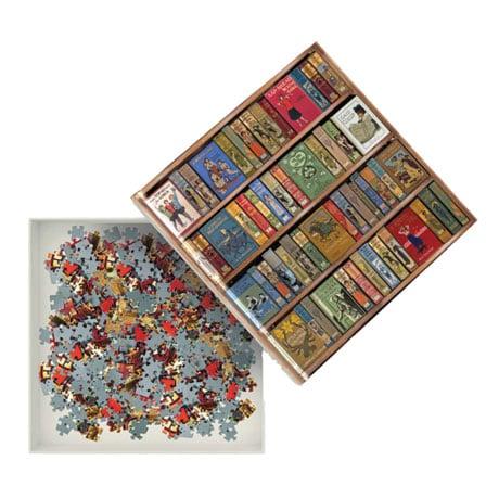 High Jinks! Bookshelves Puzzle
