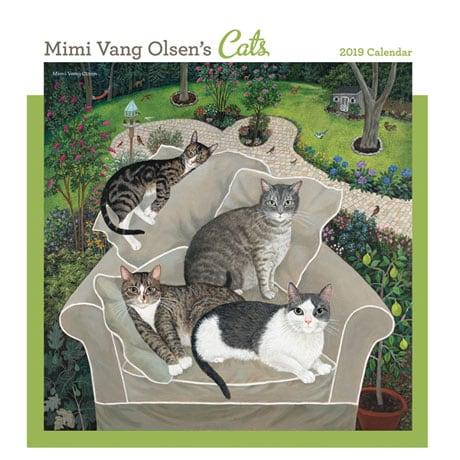 2019 Mimi Vang Olsen's Cats Wall Calendar