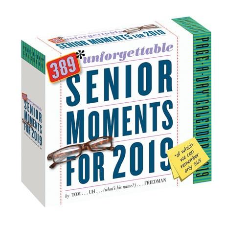 2019 389 Unforgettable Senior Moments Calendar