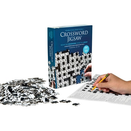 2019 Crossword Jigsaw Puzzle