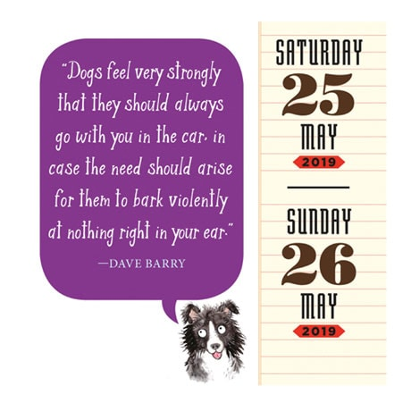 2019 Dog Trivia Page-a-Day Calendar