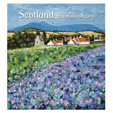 2019 Scotland Calendar