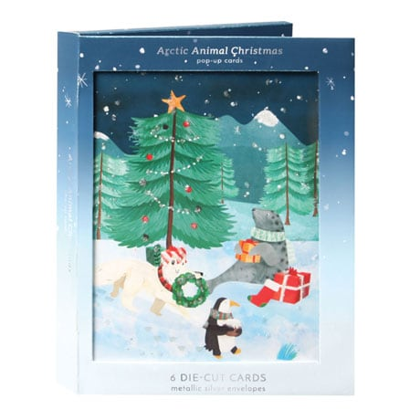 Arctic Christmas Pop-Up Greeting Cards
