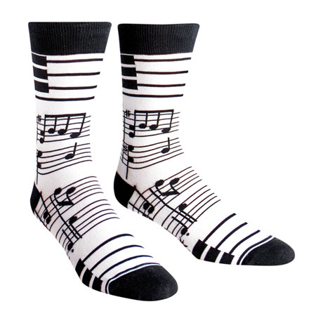Foot Notes Socks (men's crew)