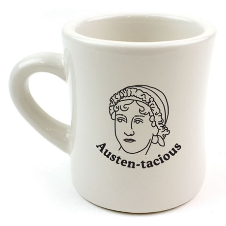 Austen-tacious Mug