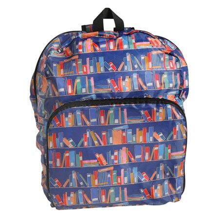 Bookshelves Reusable Backpack