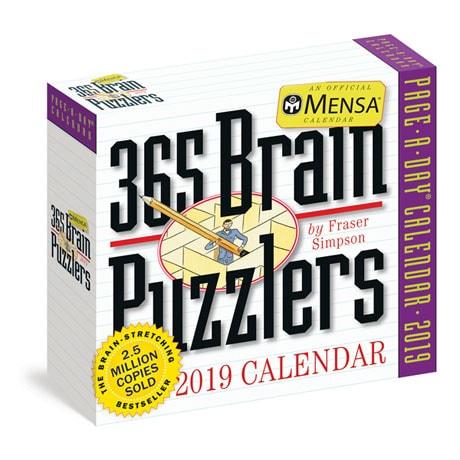 2019 Mensa 365 Brain Puzzlers