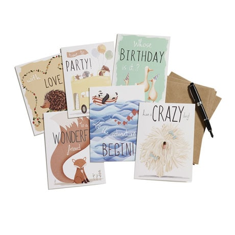 Animal Antics All-Occasion Cards