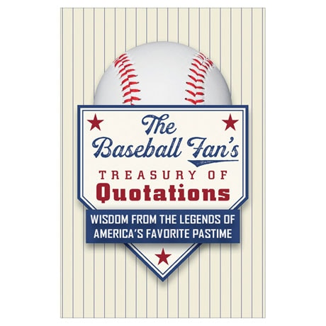 The Baseball Fan's Treasury of Quotations and Baseball Bat Pen