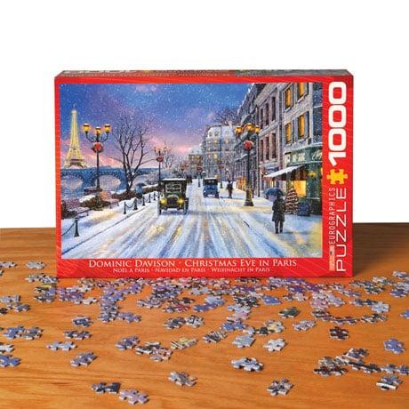 Christmas Eve in Paris Puzzle
