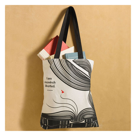 Excessively Diverted Tote Bag