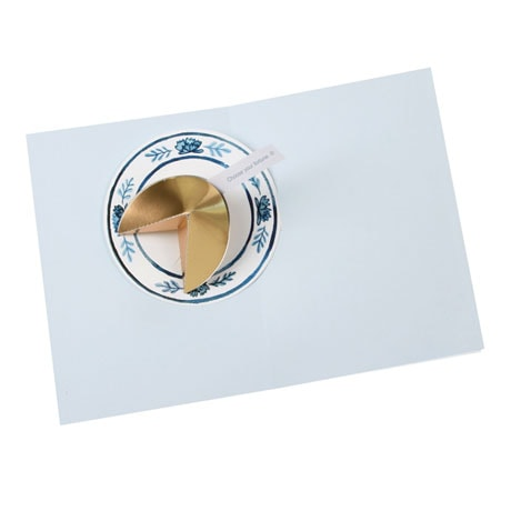 Fortune Cookie Pop-Up Greeting Card