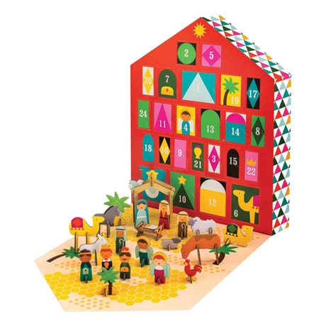 Pop-Out Nativity Scene Advent Calendar