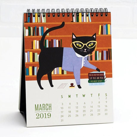 2019 Cat-itude Calendar