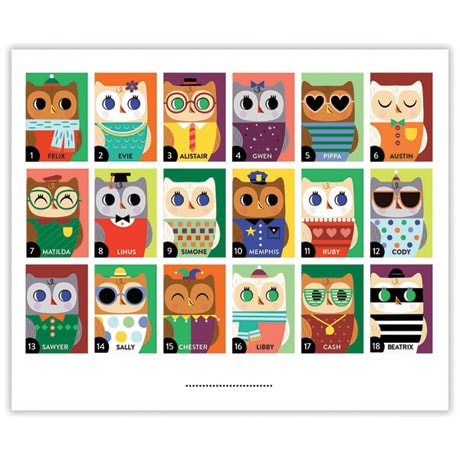 Owls And Foxes Guess Whooo