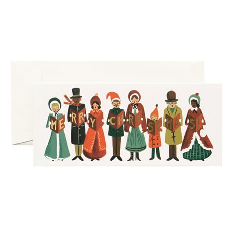 Christmas Carolers Cards