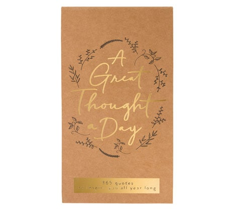 Great Thought a Day Note Pad