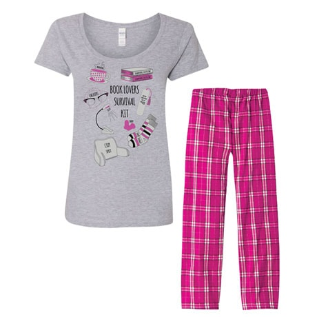 Book Lovers Survival Kit Pajama Set