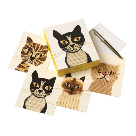 Paste Cats Note Cards