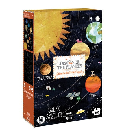Discover the Planets Glow-in-the-Dark Puzzle