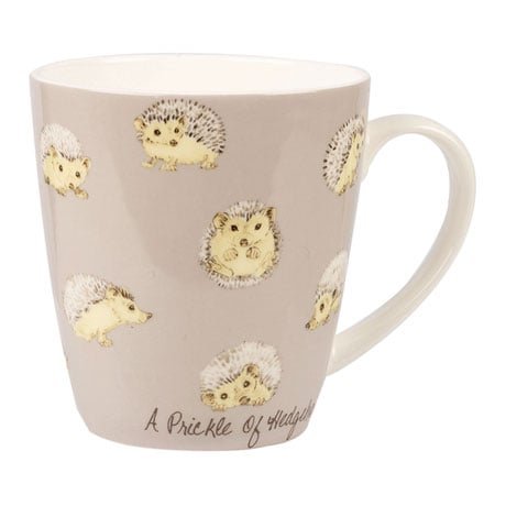 Country Crowd Mugs - Hedgehogs
