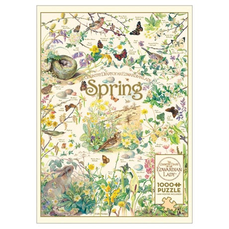 Country Diary: Spring Puzzle