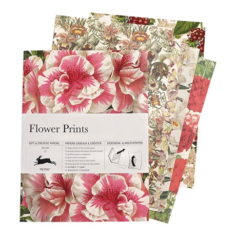Flower Prints Gift and Creative Papers