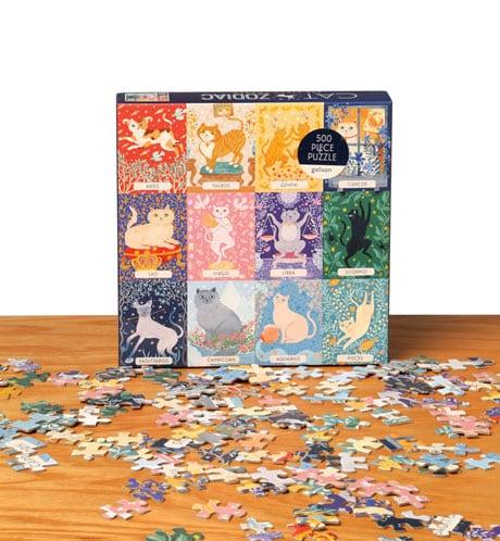 Cat Zodiac Puzzle