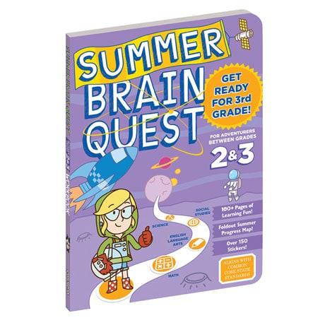 Summer Brain Quest - Grades 2 and 3