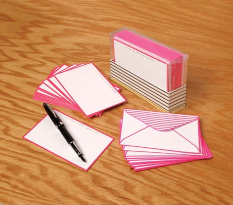 Vintage Text Messages Note Cards