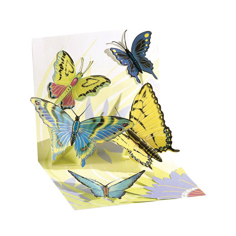 All-Occasion Pop-Up Greeting Card Collection - Set of 3