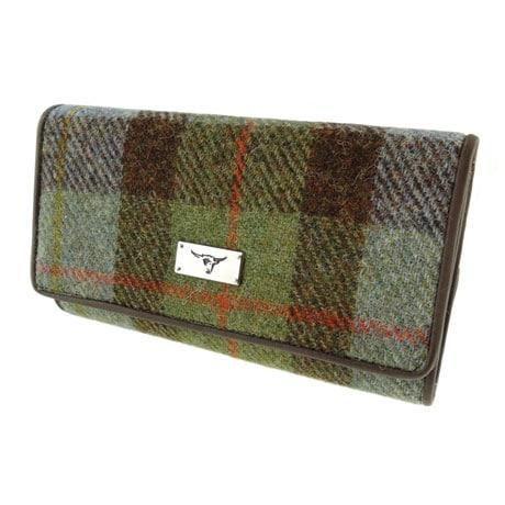 Harris Tweed MacLeod Tartan Wallet