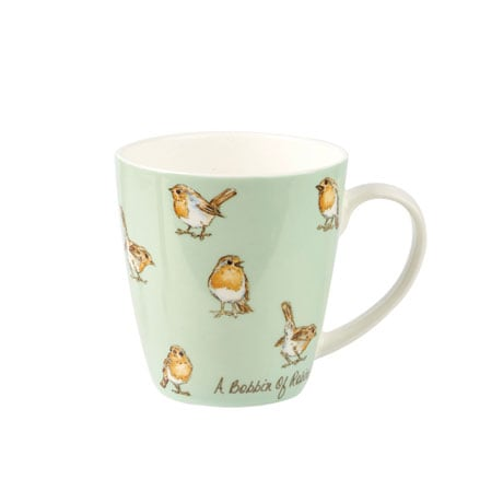 Country Crowd Mugs - Robins