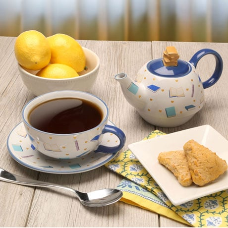Booklover Tea for One Set
