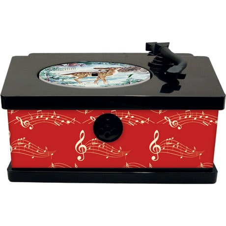 Vintage Gramophone Musical Advent Calendar