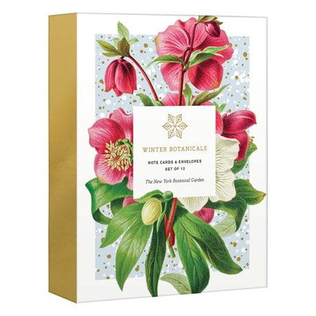 Winter Botanicals Note Cards
