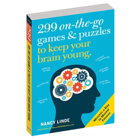 299 On-the-Go Games and Puzzles to Keep Your Brain Young