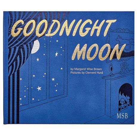 Goodnight Moon Leatherbound Keepsake Edition - Personalized