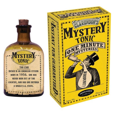 Claredon's Apothecary Game Cards - Mystery Tonic One Minute Mysteries