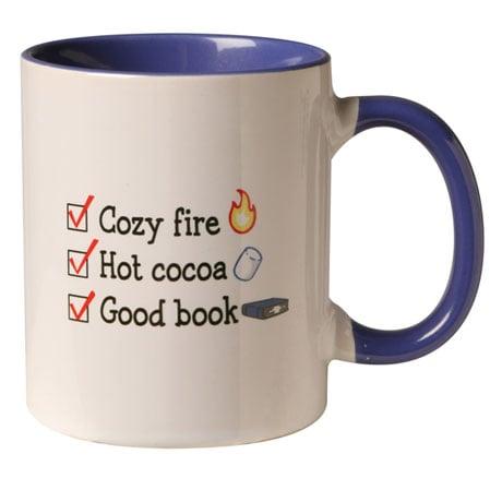 Winter Checklist Mug