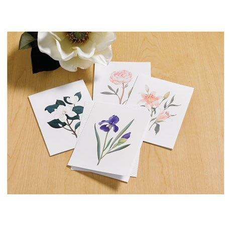 Scented Botanical Cards