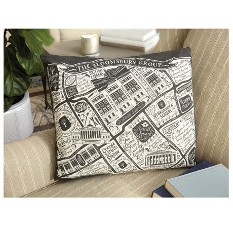 Literary London Cushion