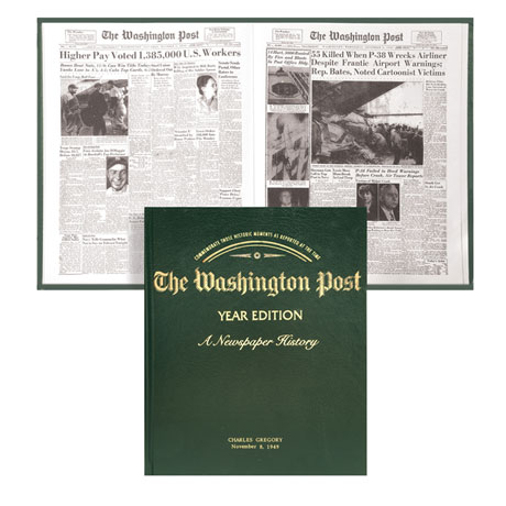 The Washington Post Year Edition (Personalized)