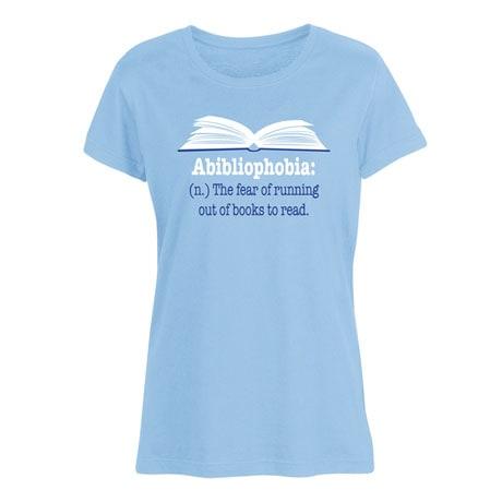 Abibliophobia Shirt
