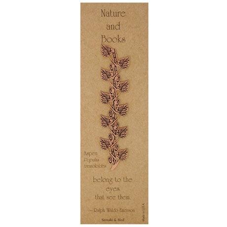 Botanical Philosophy Metal Bookmarks - Aspen