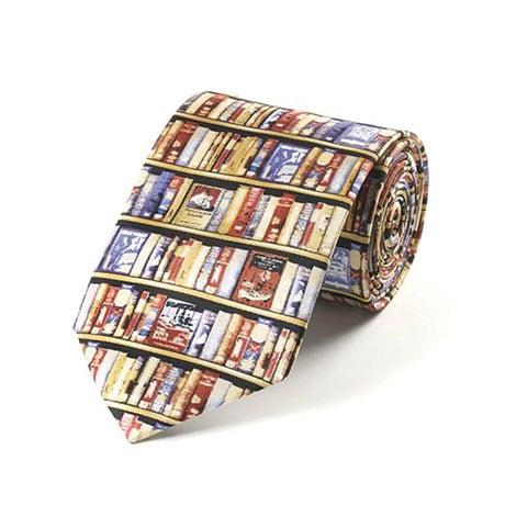 Bodleian Library Bookshelf Tie
