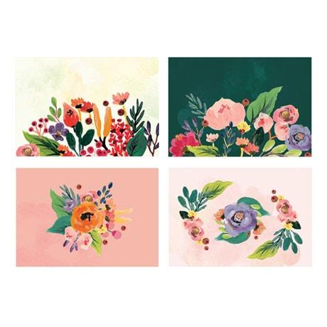 Floral Pop-Up Cards Boxed Set