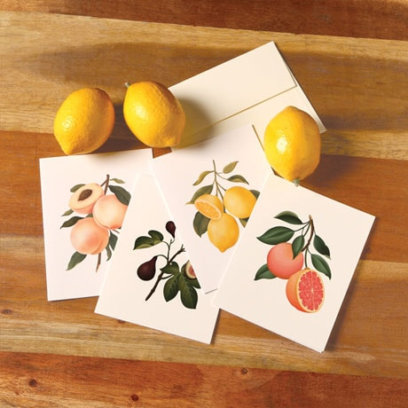 Fruit-Scented Cards