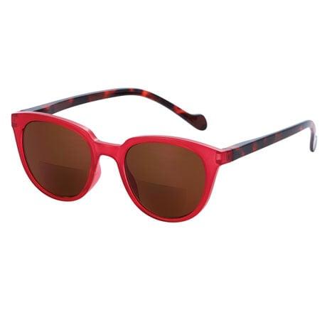 Remy Sun Reader Bifocals - Red