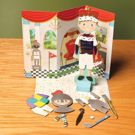 Royal Magnetic Dress-Up Dolls - Prince Louis